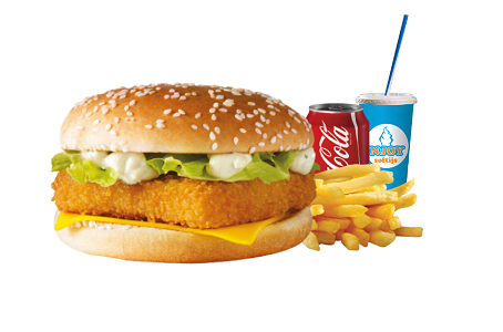 Foto Fish Filet burger menu